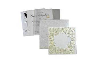 Budget Lasercut Wedding Card Design PR 102