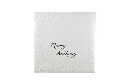 Budget Lasercut Wedding Card Design PR 102