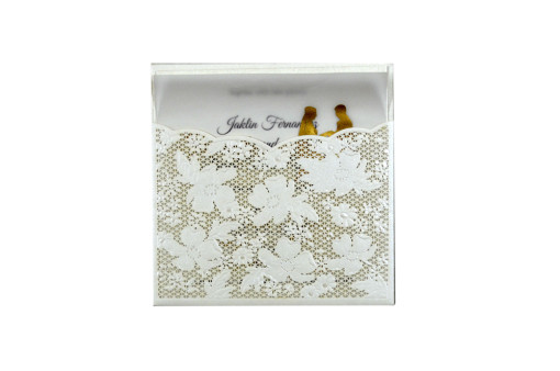 Budget Lasercut Wedding Card Design PR 103