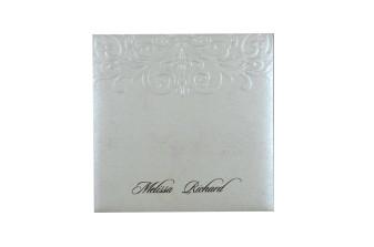 Budget Lasercut Wedding Card Design PR 104