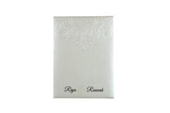 Budget Lasercut Wedding Card Design PR 105