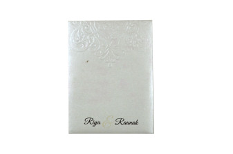 Budget Lasercut Wedding Card Design PR 106