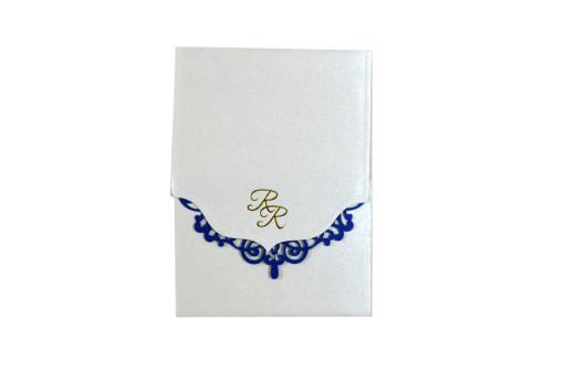 Budget Lasercut Wedding Card Design PR 106