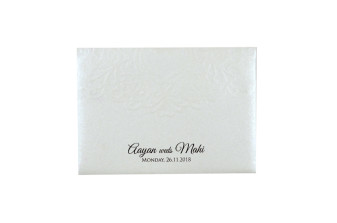 Budget Lasercut Wedding Card Design PR 107