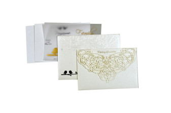 Budget Lasercut Wedding Card Design PR 108
