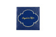 Blue and Silver Wedding Card PR 433