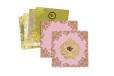 Baby Pink Floral Wedding Card PR 446