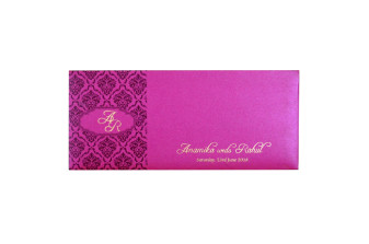 Pink Budget Wedding Card PR 464