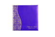 Paisley Purple Wedding Card PR 478