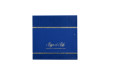 Blue and Silver Wedding Card PR 480