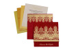 Red Budget Wedding Card PR 532
