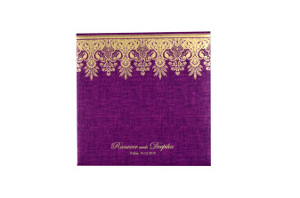 Red Budget Wedding Card PR 533