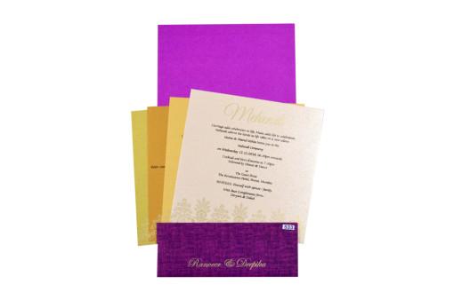 Red Budget Wedding Card PR 533