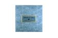 Light Blue Floral Theme Wedding Card Design PR 543