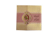 Baby Pink Centre Fold Wedding Card PR 546
