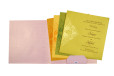 Baby Pink Budget Wedding Card PR 549