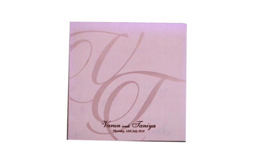 Love Birds Laser Cut Wedding Card PR 554