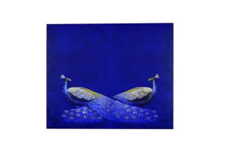 Exclusive Peacock Theme Wedding Card PR 904