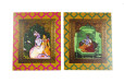 Exclusive Radha Krishna Theme Lasercut Wedding Card PR 906