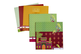 Exclusive Muslim Wedding Card PR 927