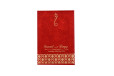 Red Budget Hindu Wedding Card RB 1422 RED