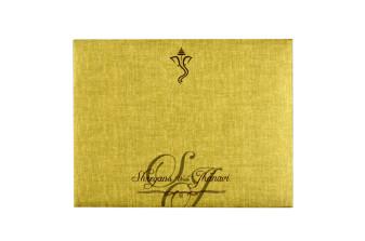 Velvet Touch Paper Budget Wedding Card RB 1522 CREAM