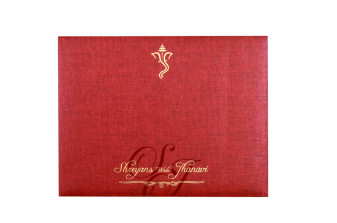 Velvet Touch Paper Budget Wedding Card RB 1522 GREY
