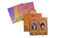 Dulha Dulhan Theme Wedding Card RB 1537