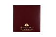 Lasercut Budget Wedding Card RB 1562 MAROON