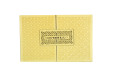 Lasercut Padded Wedding Card RB 1563 YELLOW