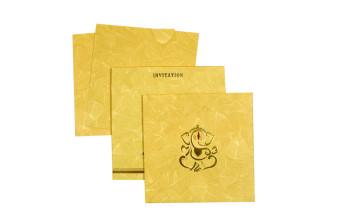 Hindu Budget Wedding Card RN 2225