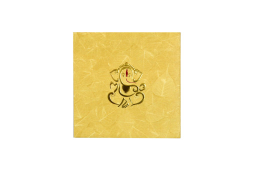 Hindu Budget Wedding Card RN 2225