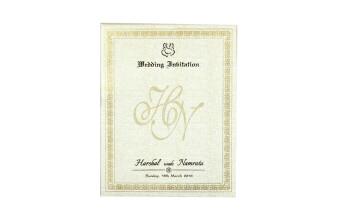 Traditional Wedding Card RN 2267