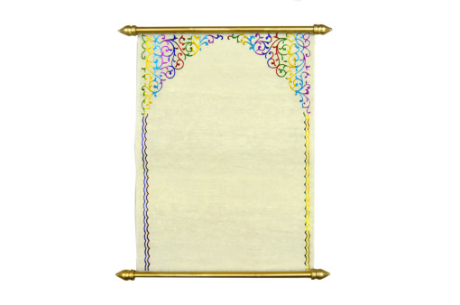 Baraat Theme Scroll Inivitation SC 104